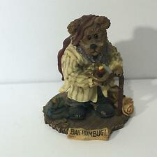 The Bearstone Collection: Style #228333 Paw Scrooge McBear. Bah Humbug