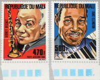 MALI 1984 991-92 C493-94 Musiker Musician Music Sidney Bechet Duke Ellington MNH