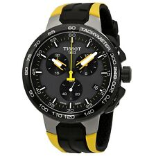 New Tissot T-Race Chronograph Cycling Tour De France Mens Watch T1114173744100