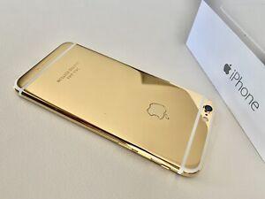 Apple iPhone 6 / 64 GB / 24k Gold vergoldet Luxus Limited Edition - Neuwertig -