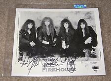 Firehouse Autographed 1991 Press Photo 8x10