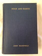 John Masefield - Eggs and Baker or The Days of a Trial - 1st/1st Heinemann 1936