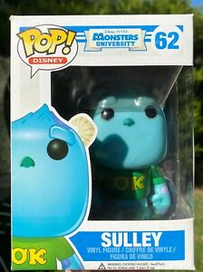 Monsters Inc University - Sulley #62 Funko Pop Vinyl New in Box