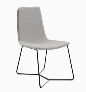 John Lewis & Partners Slope Upholstered Dining Chair, Pebble Stone  - RRP £299