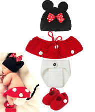Halloween Costume Infant Baby Handmade Hat Skirt Shorts Shoes Newborn Cosplay