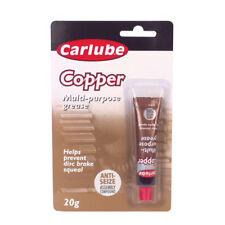 Carlube Copper Grease Slip Multi Purpose Anti Seize Assembly Compound 20g