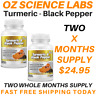 Turmeric 95% Curcumin & Black Pepper-120 Capsules Tablets Pills Extra Strength
