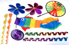 9 Piece - Mobile Garden Twister Set, Bright and Colourful - SEN Special Needs