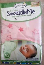 SwaddleMe Pucksack Baby Small 3-6 kg Microfleece Schlafsack Baby Pucken rosa NEU