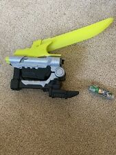 Power Rangers - Dino Charge - Deluxe Green Sabre Sword Morpher + charger No.4