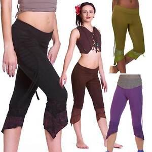 Psy Leggings, Pixie Trance Leggins, Hippy Festival Tribal Clothing, Woodland Fae