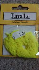 Turrall medium chenille fl yellow