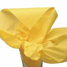 "Dress My Cupcake Dmc79475 50-Piece Tissue Paper 20 x 14"" Sunflower Yellow"