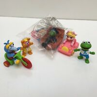 Lot of 5 McDonald's Happy Meal Muppets Toys 1986-1995