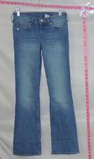 H & M Blue Bootcut Low Waist Jeans Sz 27 Ins 32 # 5355 Batch 193