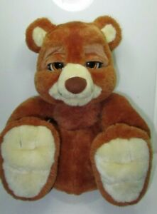 Emotion Pets Interactive Bruno Bear Electronic Pet Battery Operated Flair