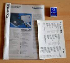 Original technische Unterlagen Quante MLTT Mobiler Leitungs- und Telefon Tester