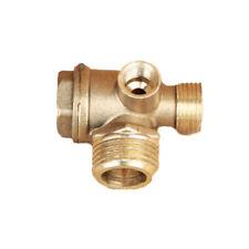 3 Port Brass Central Pneumatic 40400 Air Compressor Check Valve Thread Replace S