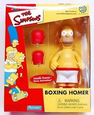2001 SIMPSONS BOXING HOMER TOYFARE EXCLUSIVE MAIL AWAY FIGURE NEW