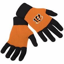 Cincinnati Bengals Stretch Knit Gloves with Texting Tips NFL