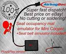 Airbag occupancy sensor emulatore seat bypass fits Mini Cooper R55 R56 OCS One