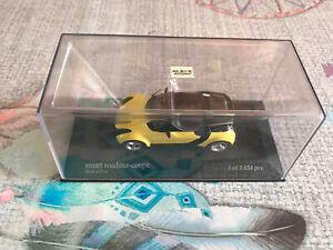 Voiture Miniature Smart Roadster Coupé Shine Yellow Minichamps 1/43
