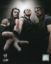 WWE foto lo scudo 8x10 ufficiale wrestling PROMO Rollins Ambrose regna