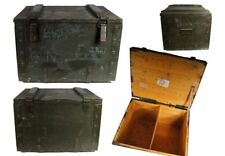 Transportkiste TK1 Holzkiste Werkzeugbox Vintage Holztruhe Munitionskiste Armee