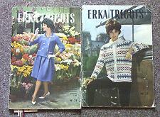 Livres de tricot Erka N° 25, 27 années 1960