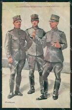 Military Soldiers Royal Dutch Army Van Oorschot 17 cartolina XF9183