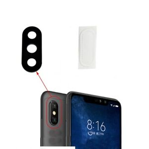 Rear Back Camera Lens Glass + Adhesive Cover For Xiaomi Redmi 6 Pro / Mi A2 Lite