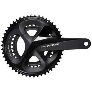 SHIMANO 105 FC-R7000 Crankset 52 / 36T (2x11S) Black Bicycle Part From Japan