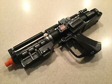 Star Wars Droid Black Blaster Rifle 1999 Tested Cosplay Lights Sounds
