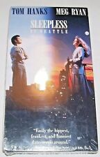 Sleepless in Seattle (VHS, 1993) Tom Hanks and Meg Ryan, NEW and SEALED!