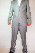 Paul Smith Anzug Sakko + Hose Mens Suit Gr. 52 M slim fit NEU1099€ NEW hell grau