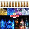 LED String Battery Operated Copper Wine Bottle Wire Fairy Lights Party Decor Ilo