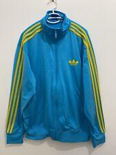Adidas Originals ADI-Firebird Track Top Jacket Blue Yellow Size L X41203
