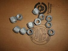 HMMWV HUMMER H1 GEARED HUB LUG NUT 5 EACH