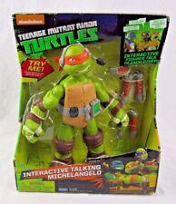 "TMNT Teenage Mutant Ninja Turtles 11"" Michelangelo Infrared Talking Figure - NEW"