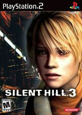 """Playstation 2  PS2 SILENT HILL 3  Box Cover Photo Poster Decor """"NO GAME"""""""
