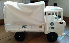 "1960's UN United Nations 20"" Transport Truck (Made in Britain) UK PLASTIC"