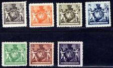 LIECHTENSTEIN 1921 46-52B ungebrauchter SATZ (M1201