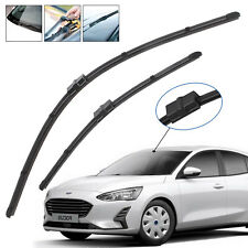 FORD FOCUS MK2 04-ON AERO FLAT WINDSCREEN WIPER BLADES (Fits: Ford Focus)