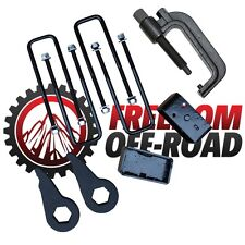 "Chevy GM 1500 K1500 4WD 3"" + 3"" Torsion Bar Key Lift Kit Bar Unloading Tool"
