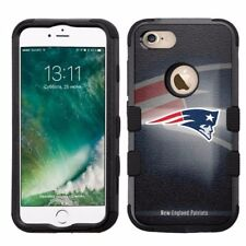 for Apple iPhone 8 Impact Armor Rugged Hard Hybrid Case New England Patriots #BG
