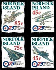 Norfolk Island 1996 - Royal Australian Air Force - Set of 4v - Sc 597-600 - MNH