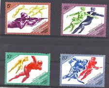 RUSSIA , 1984 OLYMPICS , SPORTS , SET OF 4 , PERF , MNH