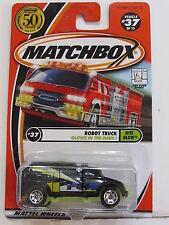 MATCHBOX 2001 #37 OF 75 ROBOT TRUCK - NITE GLOW