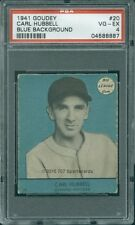 1941 Goudey 20 Blue Carl Hubbell PSA 4 (8887)