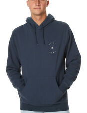 Ne Billabong Mens XXL Awake Hoodie Hooded Fleece Jumper Pullover Slate Blue